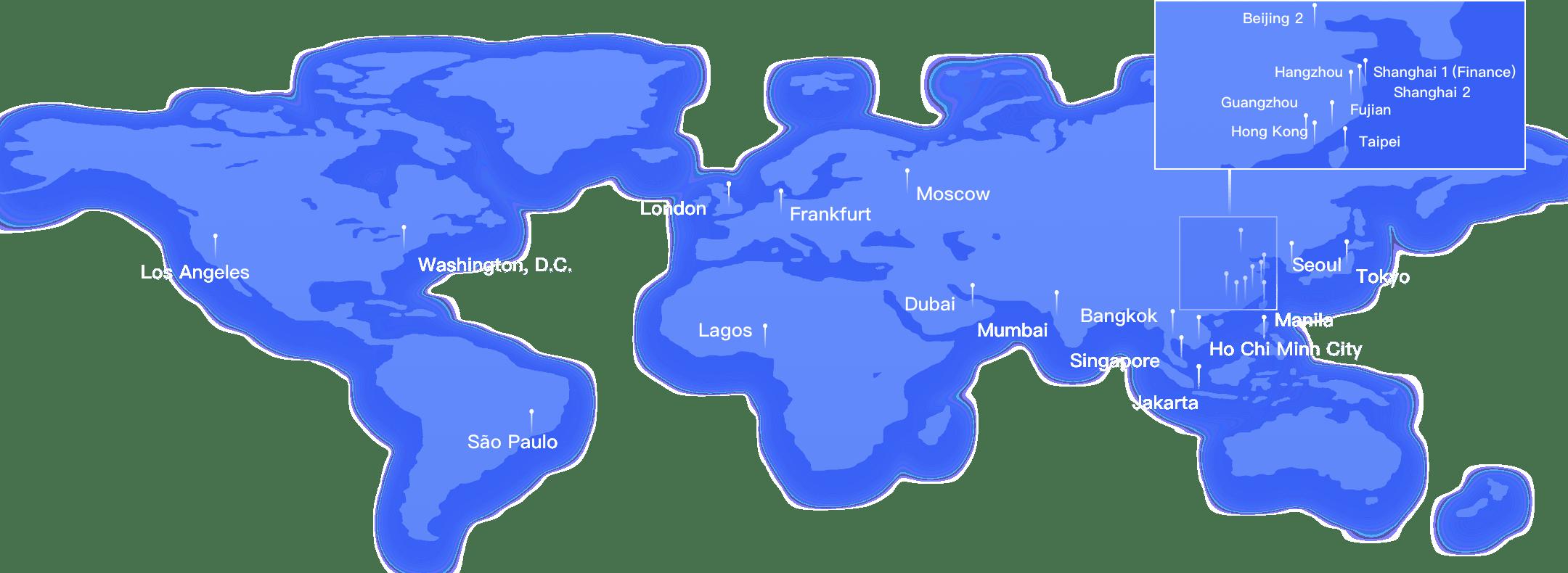 ucloud data map
